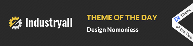 design nominees theme of the day industryall